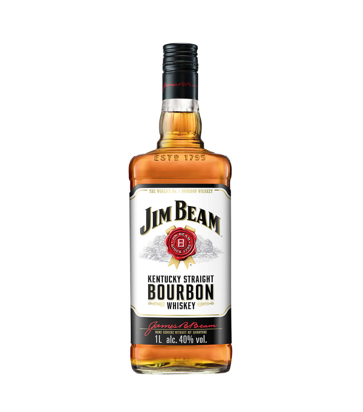 Jim Beam 4YO White 1L
