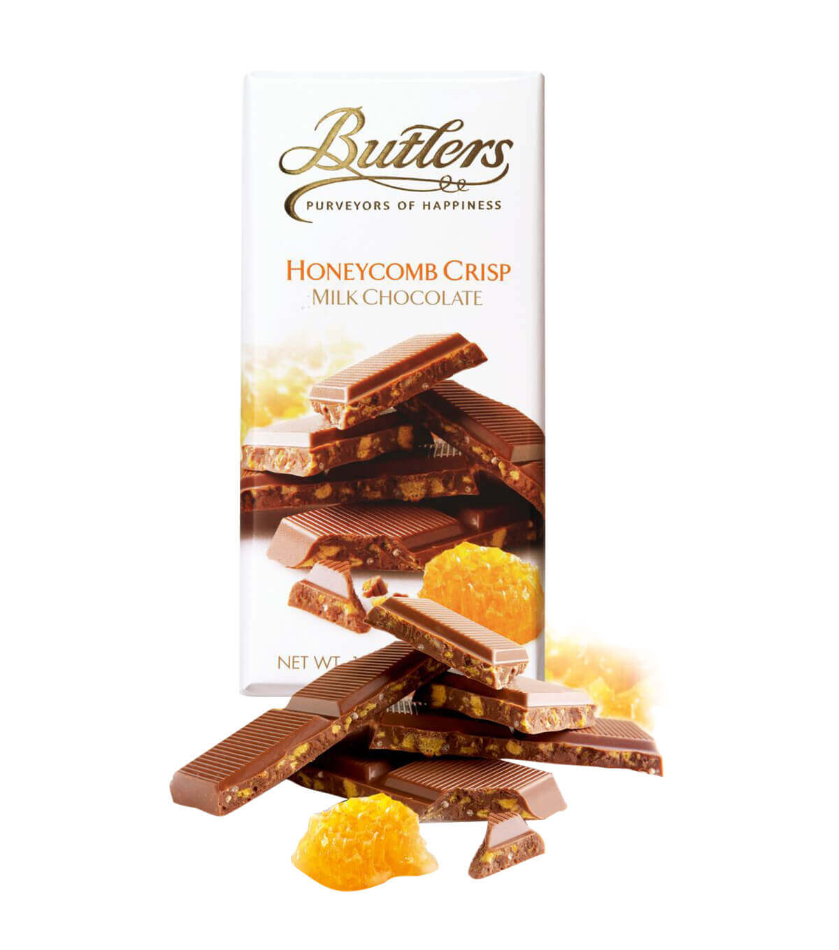 Milk Chocolate with Honeycomb Crisp