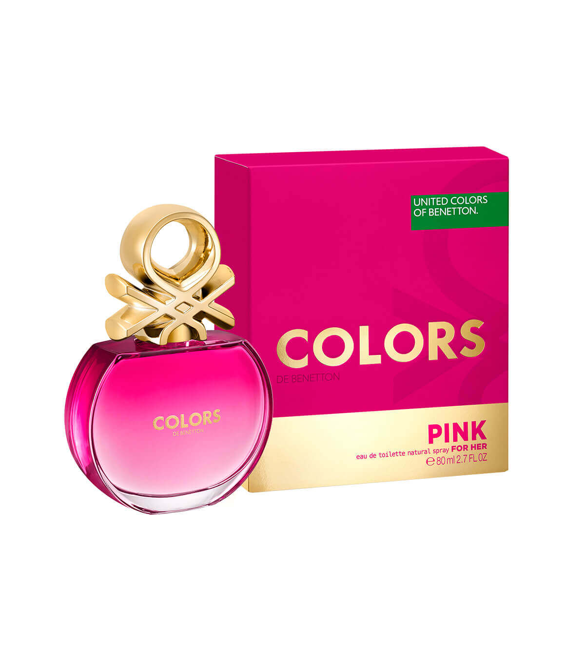 BNT COLORS PINK EDT 80ML