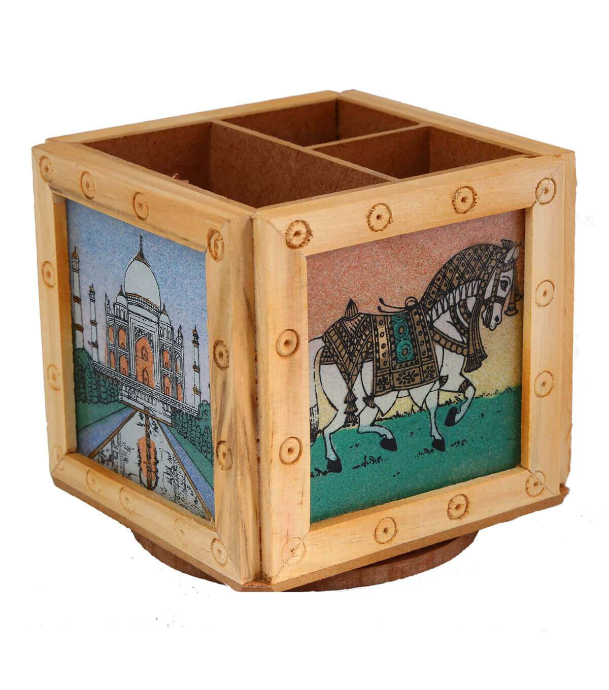 Buy Elephant Paint Wood At Hyderabad Duty Free