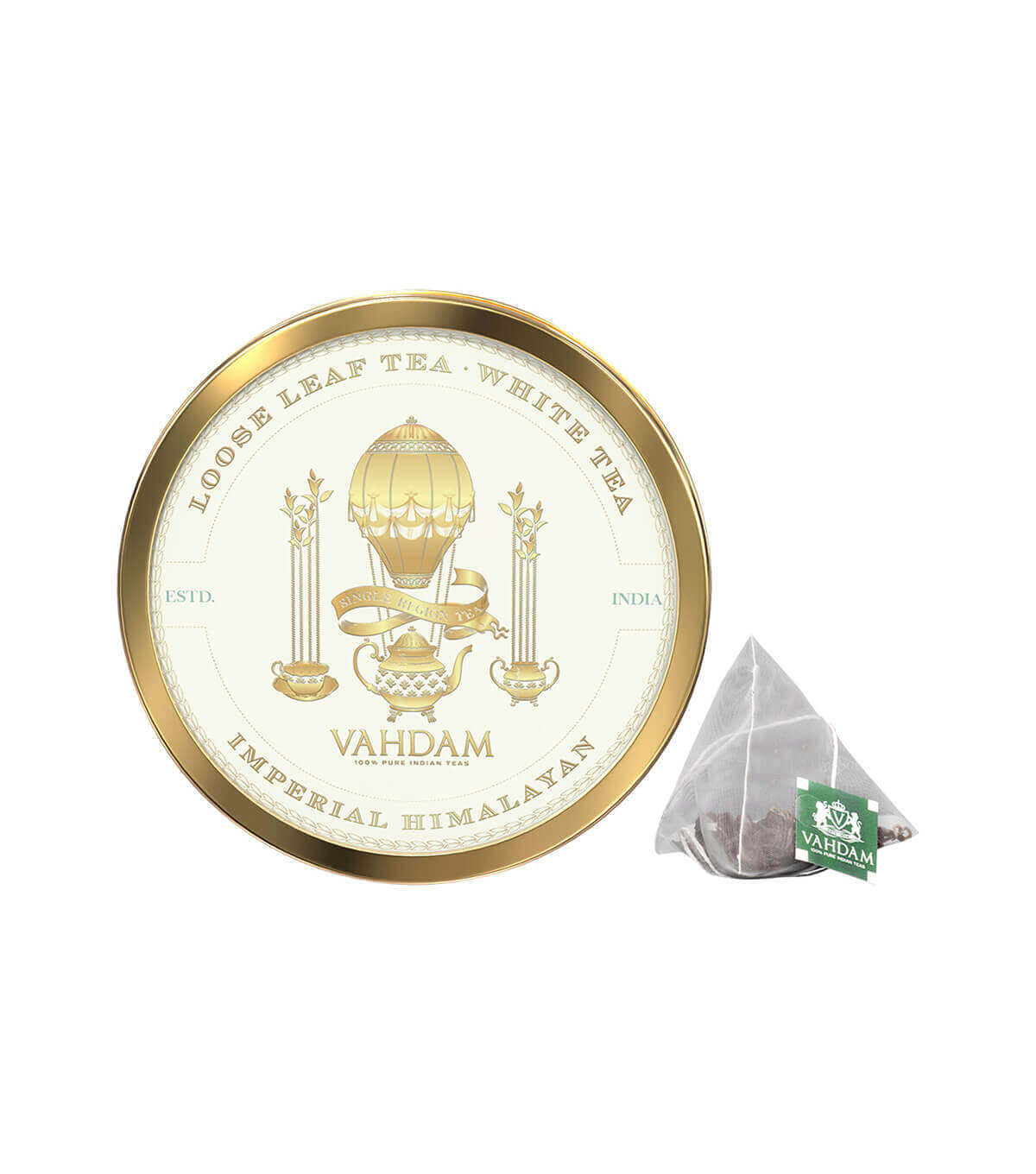 Vahdam Turm. Herbal 15Tb 30G